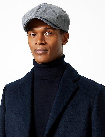 Pure Cotton Baker Boy Hat