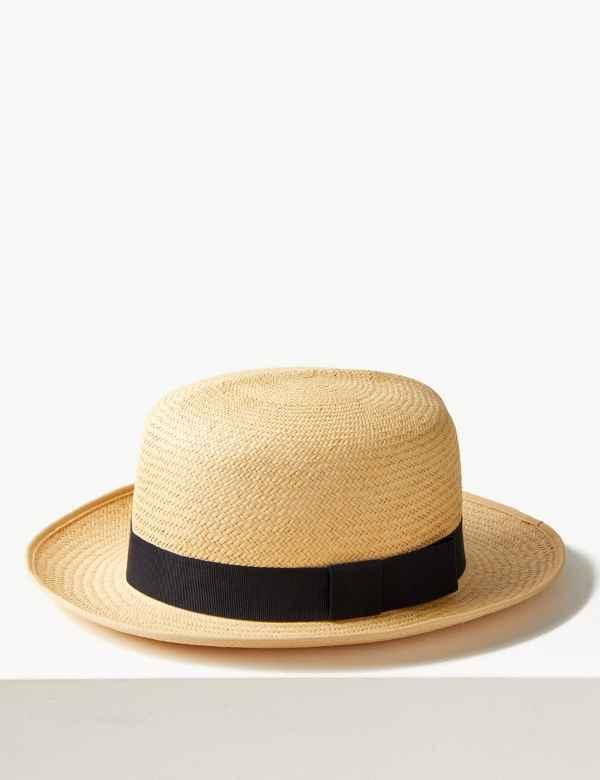 8a644dea564 Foldable Panama Hat