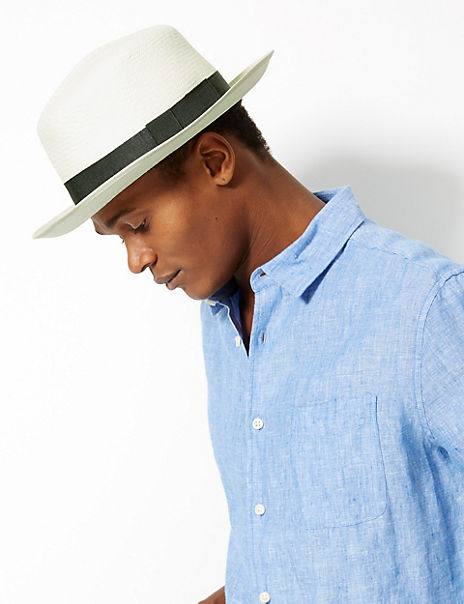 Foldable Panama Hat Made by Christys'