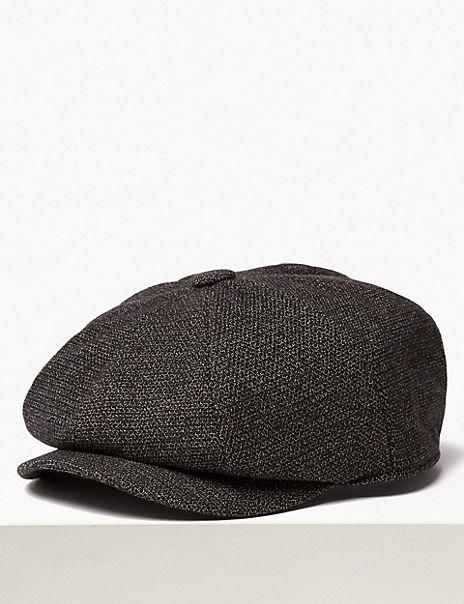 Textured Baker Boy Hat