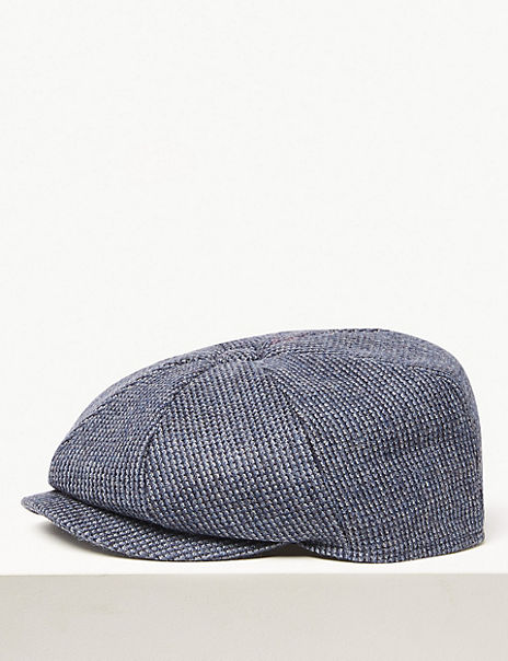 Wool Baker Boy Hat