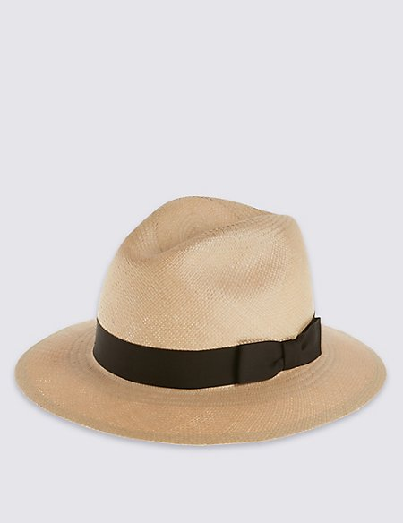 Coloured Panama Hat