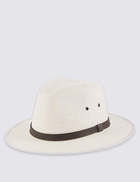 Pure Linen Ambassador Hat
