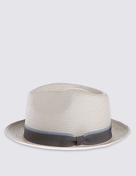 Plain Band Trilby Hat