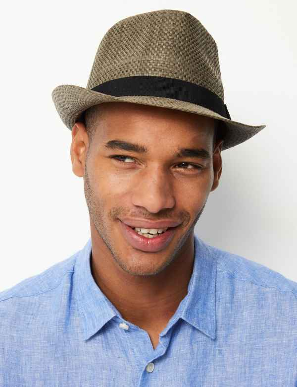 897ca9ec14ac6 Hopsack Trilby Hat