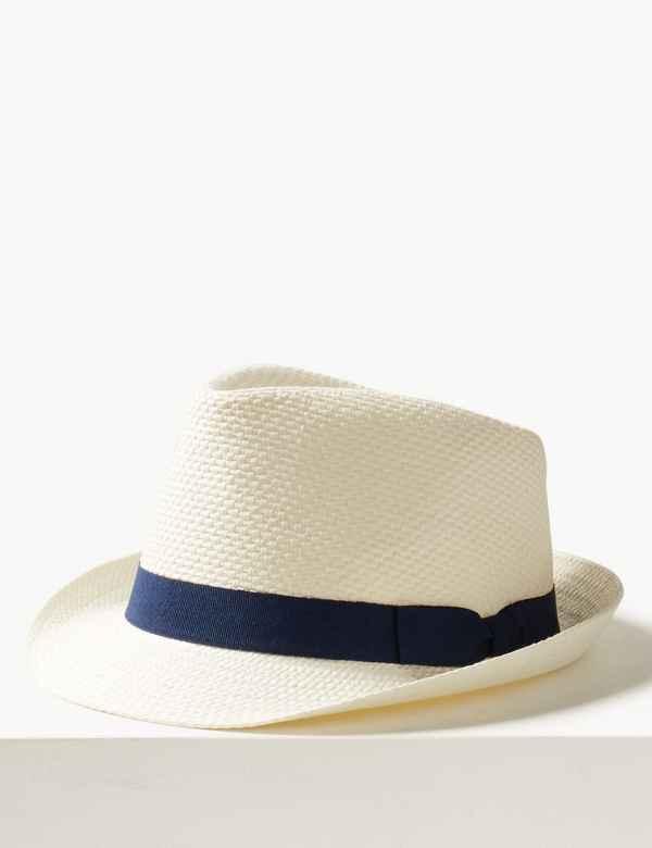 80e87465cfa Hopsack Trilby Hat