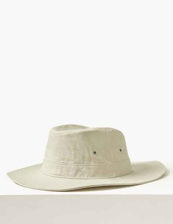 cfca0d5a Mens Summer Hats | Trilby Straw Hats & Flat Caps For Men | M&S