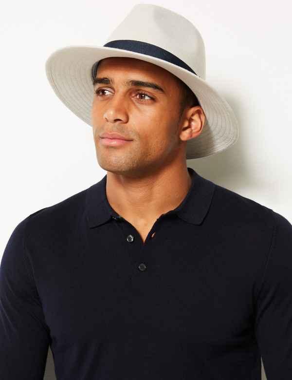 998d31b1cf3de Herringbone Ambassador Hat