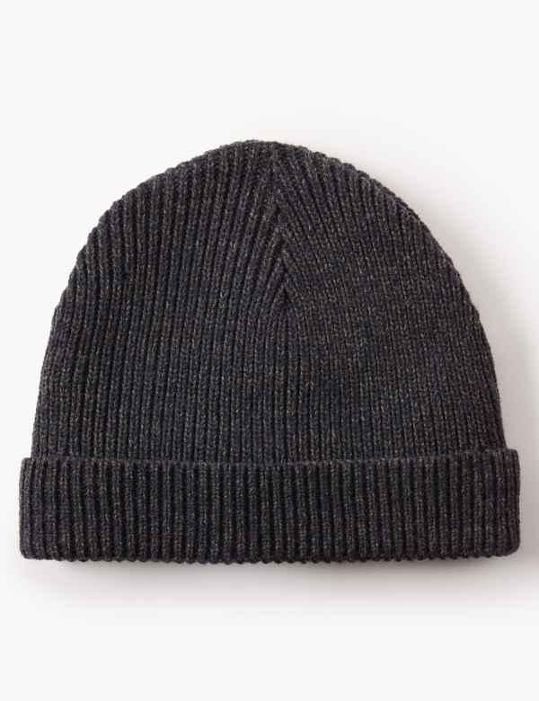 Ribbed Beanie Hat d1f1f649e