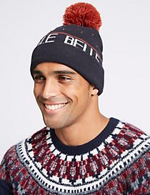 Christmas Jingle Bells Beanie Hat