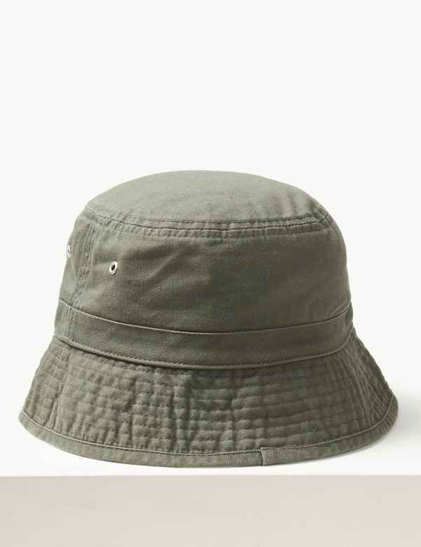 a9a9d96525f Pure Cotton Bucket Hat