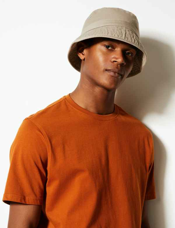 bea9d71d227 Pure Cotton Bucket Hat