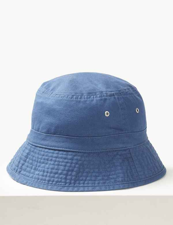 bf7f6d64011 Pure Cotton Bucket Hat