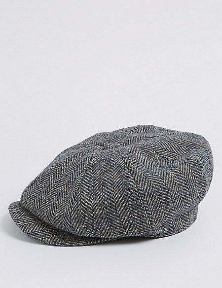 Pure Wool Herringbone Thinsulate™ Hat