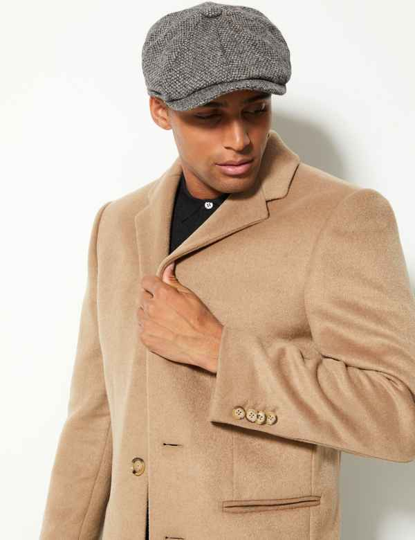 Pure Wool Baker Boy Cap Stormwear™ f65769a0c984