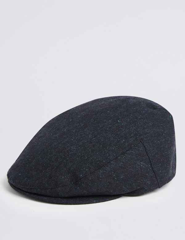 5e24994b53e Wool Blend Flat Cap with Stormwear™