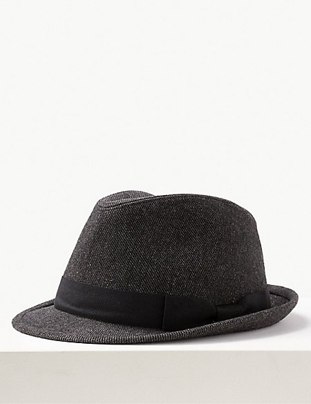 Twill Trilby Hat
