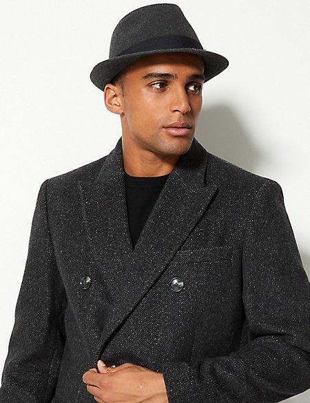 Twill Trilby Hat with Stormwear™