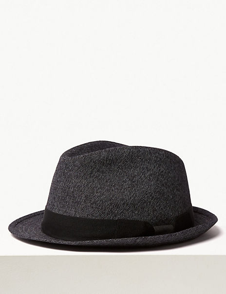 Cotton Textured Trilby