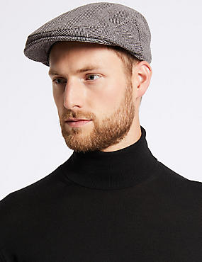 Wool Rich Flat Cap