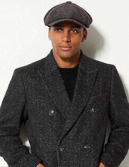 Pure Wool Baker Boy Hat with Stormwear™