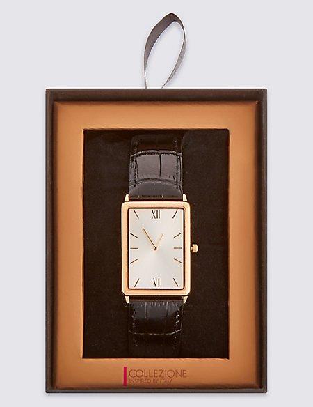 Slimline Rectangular Watch