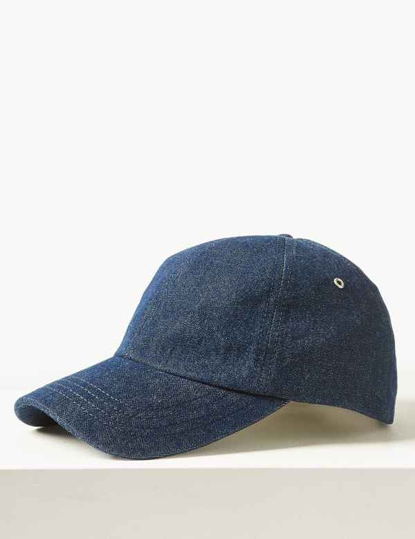 Pure Cotton Baseball Cap 6d70b589667
