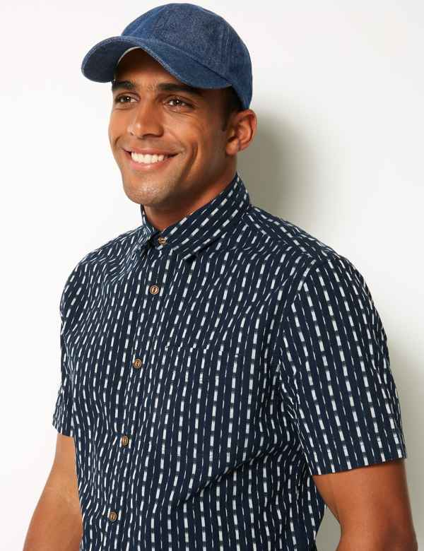 Pure Cotton Baseball Cap 489fc1c3a3c