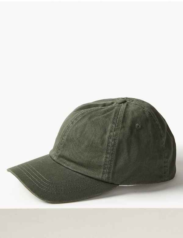 Pure Cotton Baseball Cap 3f33fcd8d7b