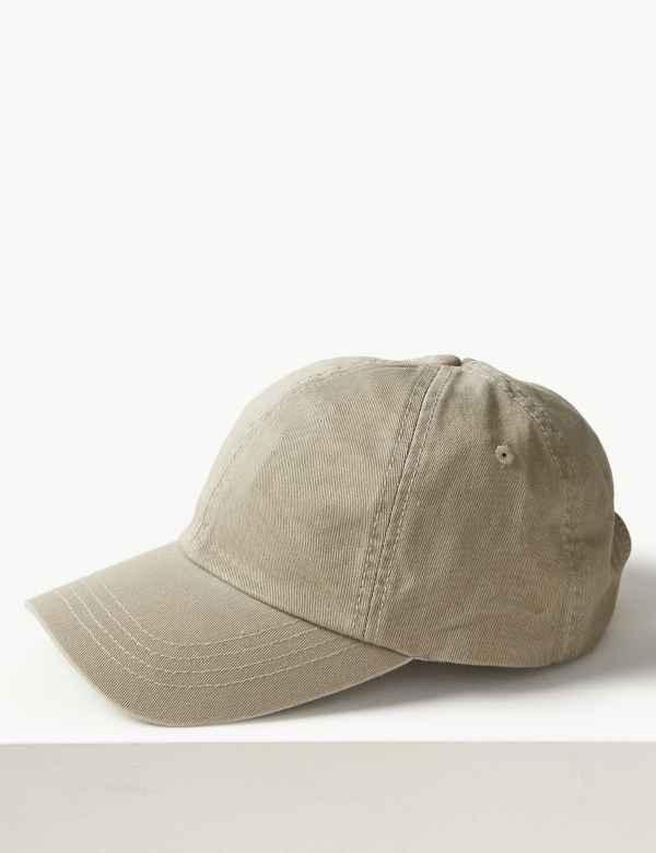 Pure Cotton Baseball Cap f5332c025f7