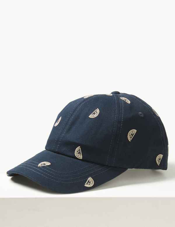 66241671fac Pure Cotton Watermelon Design Baseball Cap