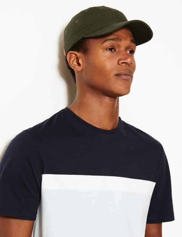 517dbb6f Pure Cotton Baseball Cap with Stormwear™. M&S Collection