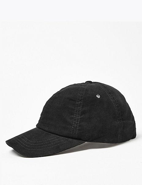 Cotton Corduroy Baseball Cap