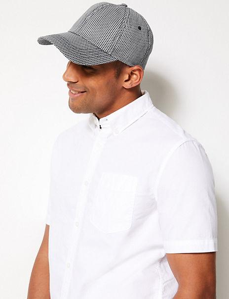 Pure Cotton Printed Baseball Cap