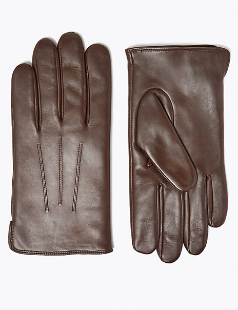 Leather Gloves with Thermowarmth™