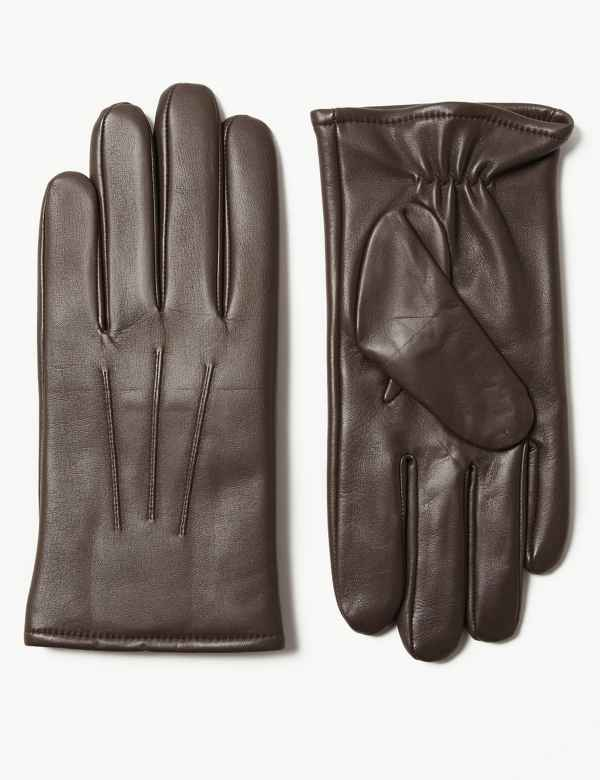 e9c4f75447344 Leather Gloves Thermowarmth™