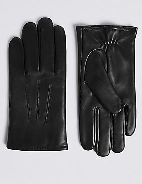 c0c4f2cb8 Leather Gloves Thermowarmth™. M&S Collection