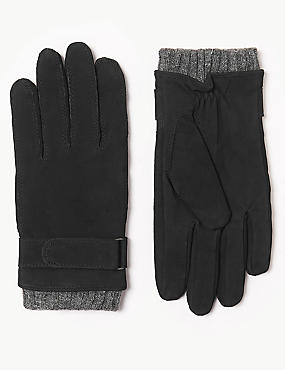 Leather Casual Gloves with Thermowarmth™