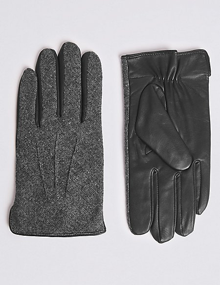 Gloves with Wool
