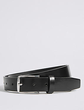 Rectangular Buckle Formal Belt