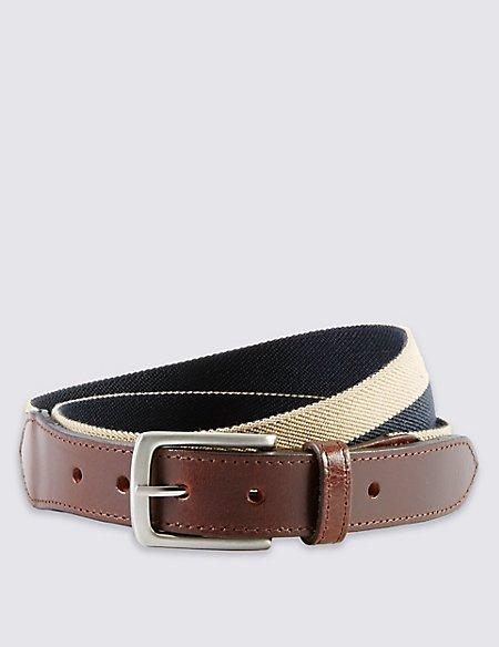 Herringbone Stretch Web Belt