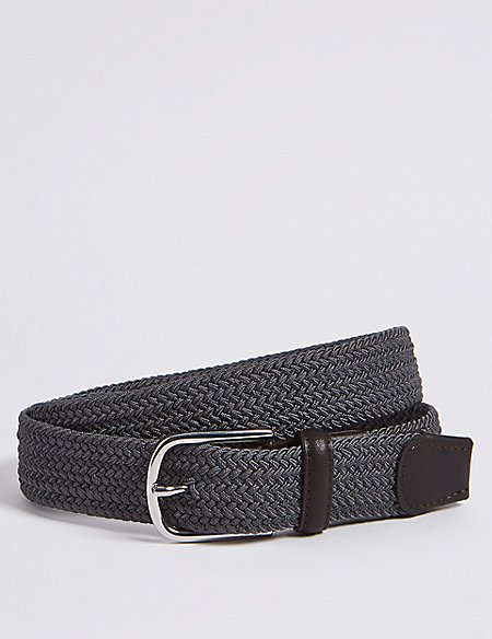 Stretch Web Buckle Belt