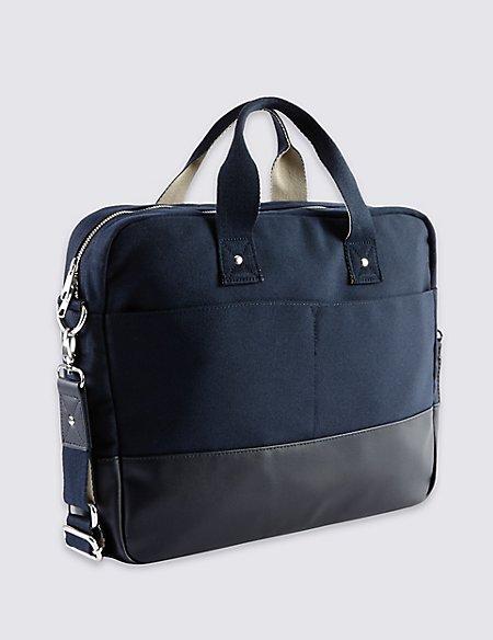 Canvas Twill Laptop Bag