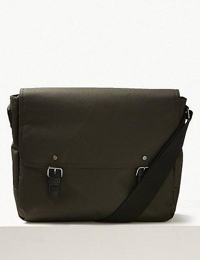 Marks & Spencer Scuff Resistant Cordura Messenger Bag Discount 2018 Unisex xrgR1CtK