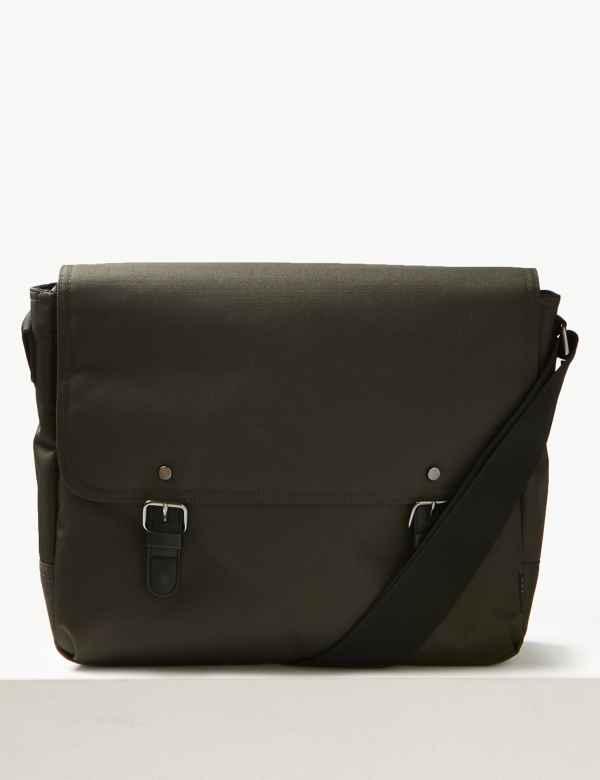 db6cf02a89 Scuff Resistant Cordura® Messenger Bag