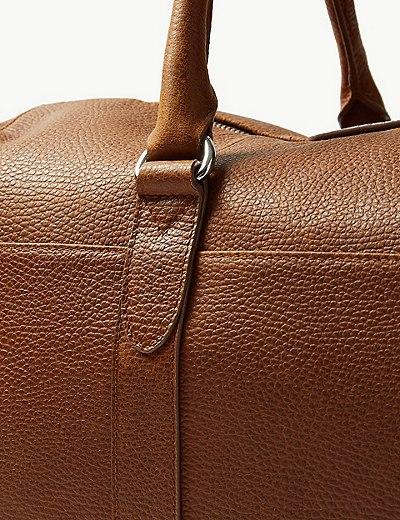 Pebble Grain Leather Holdall  15ea4b1af6983