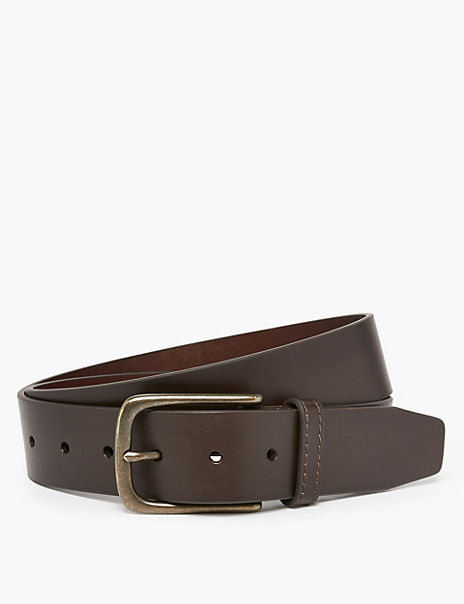Italian Leather Casual Belt