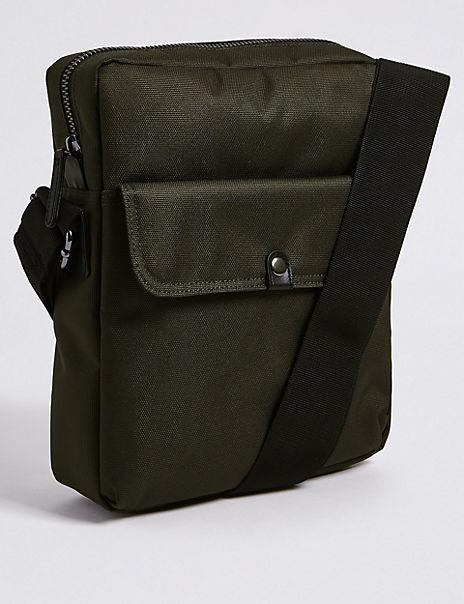 Scuff Resistant Cordura® Cross Body Bag