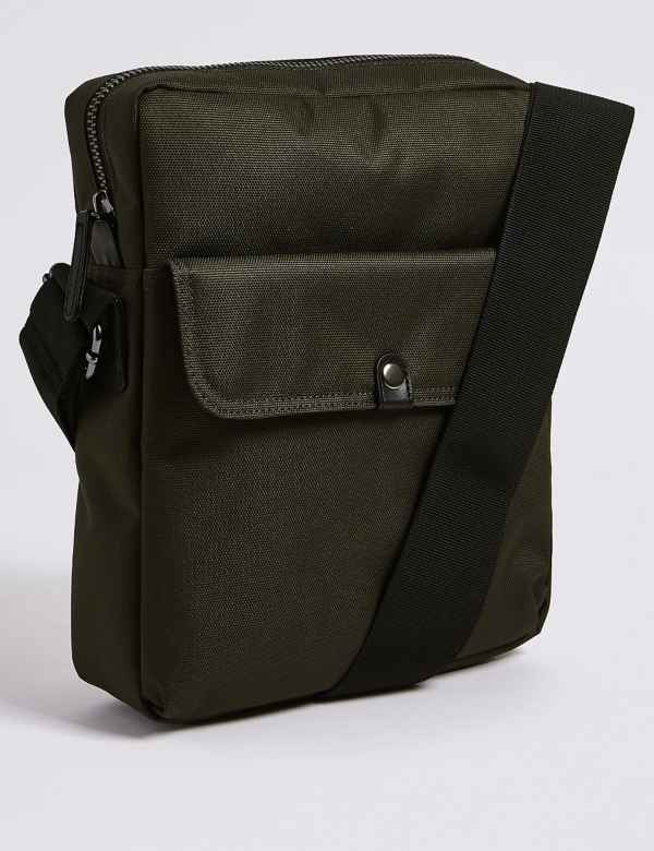 1bb8931388 Scuff Resistant Cordura® Cross Body Bag