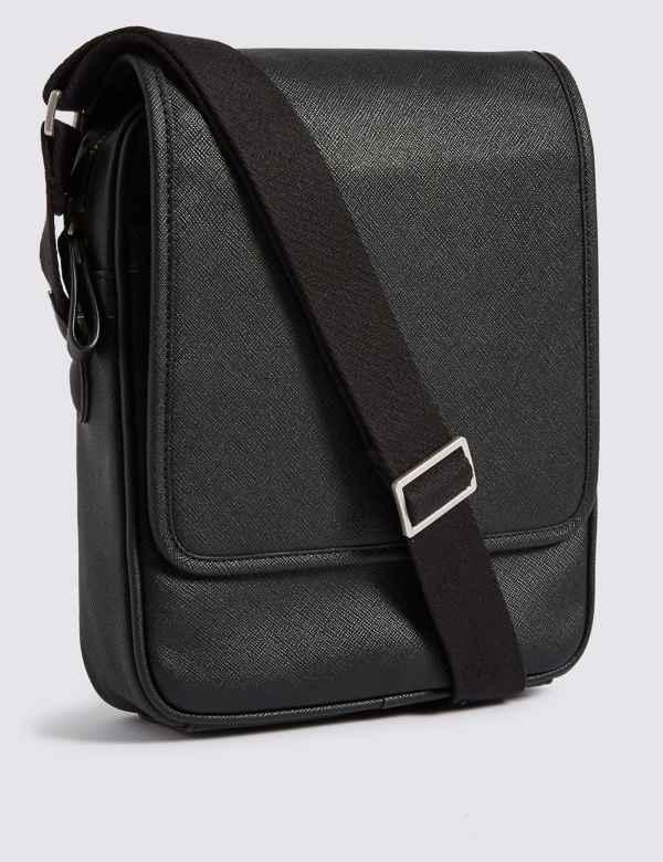 fb0697c85a Textured Saffiano Cross Body Bag